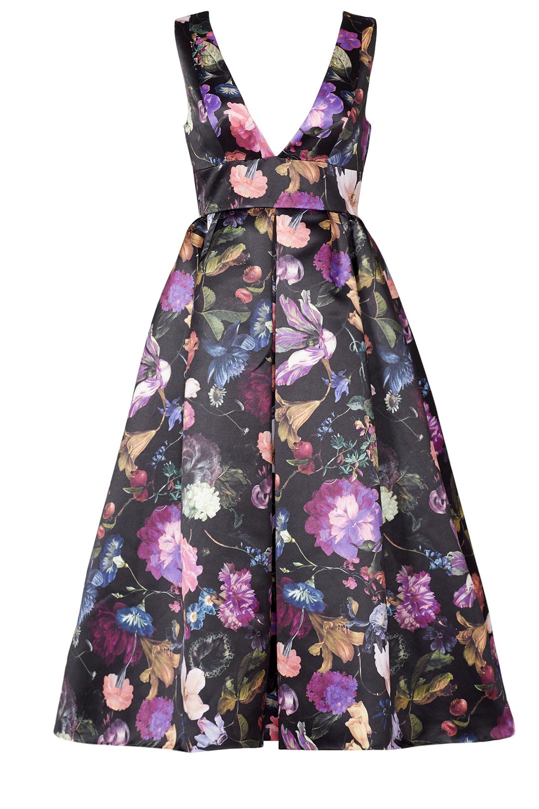 Cynthia Rowley - Winter Floral Dress
