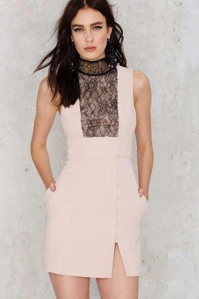 Nasty Gal Carter Lace Dress